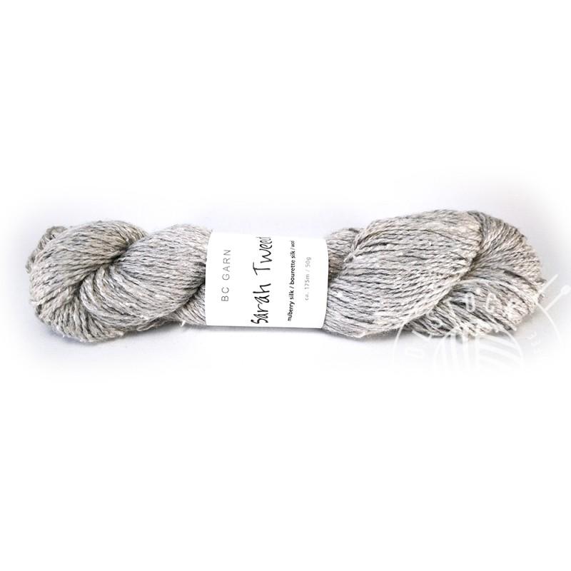 BC Sarah Tweed 20 silver grey