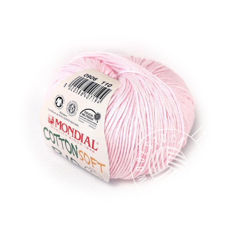 CottonSoft Bio 906 baby pink