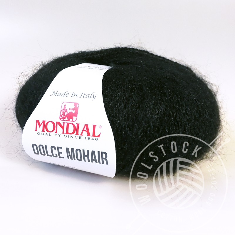 Dolce Mohair 200 black