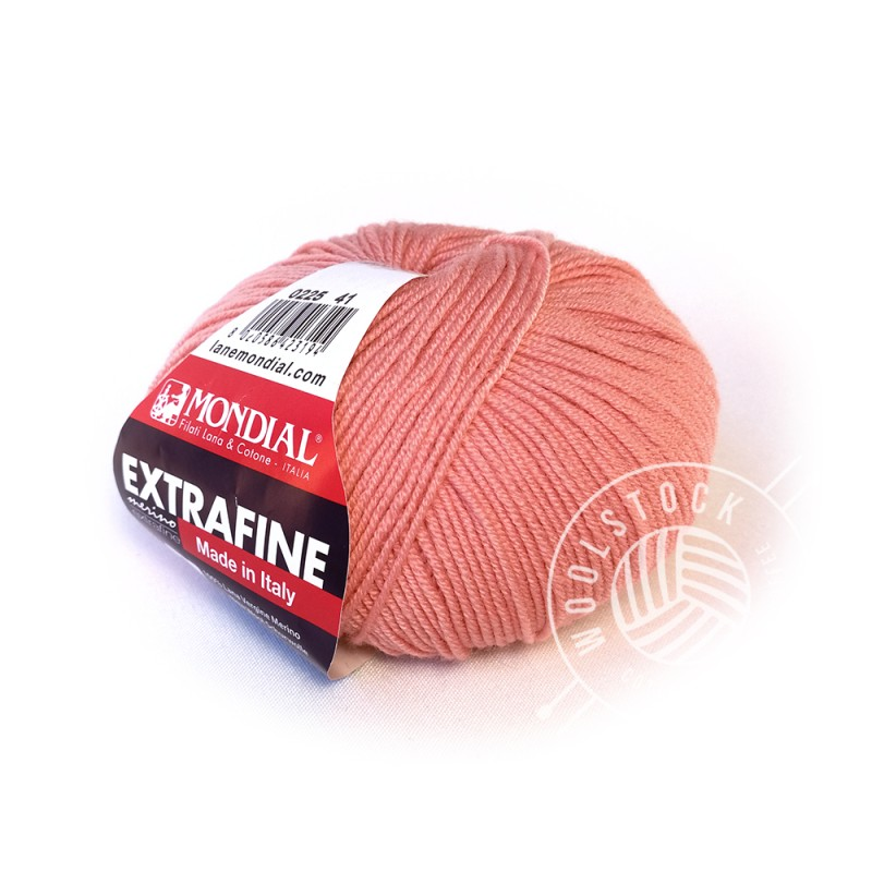 Extrafine Merino 225 pale coral