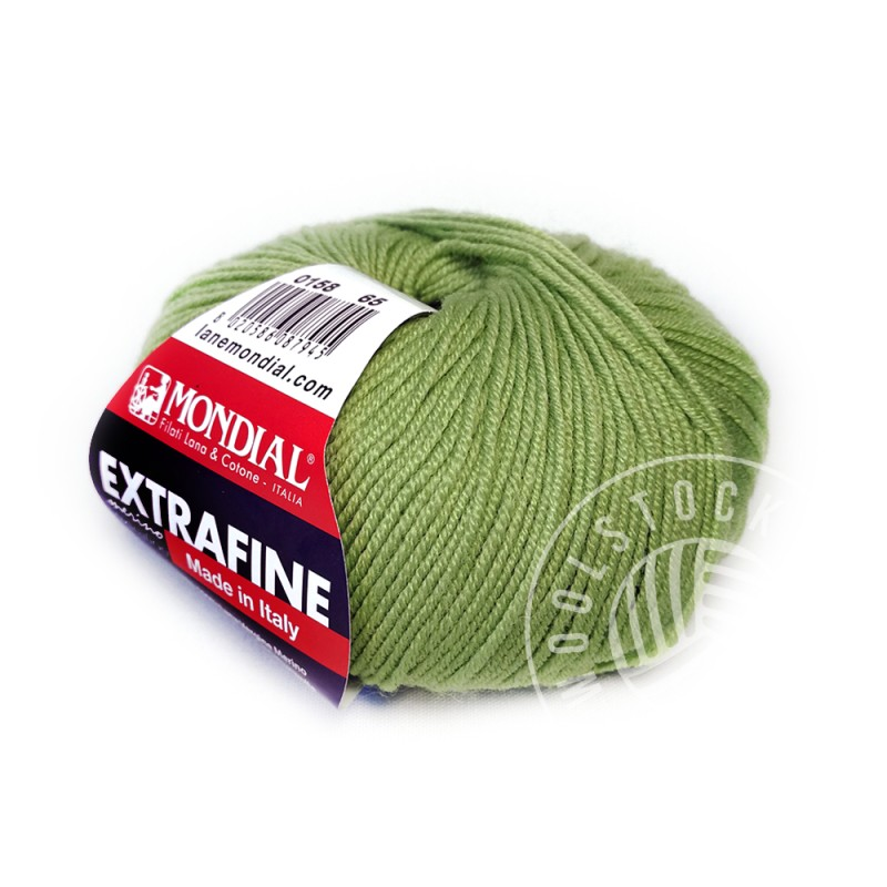 Extrafine Merino 158 apple