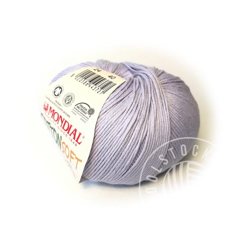 CottonSoft Bio 24 pastel lavender