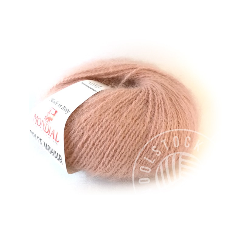 Dolce Mohair 145 dusty rose