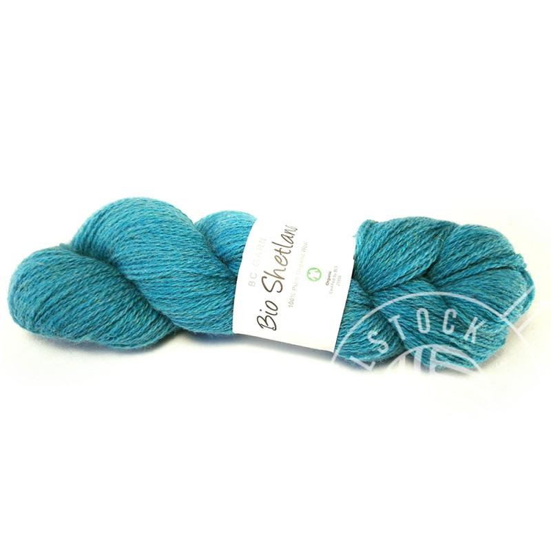 BC Bio Shetland 13 turquoise tones