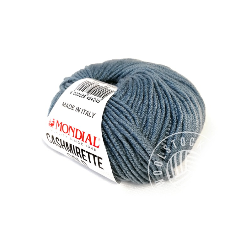 Cashmirette 121 light petrol blue