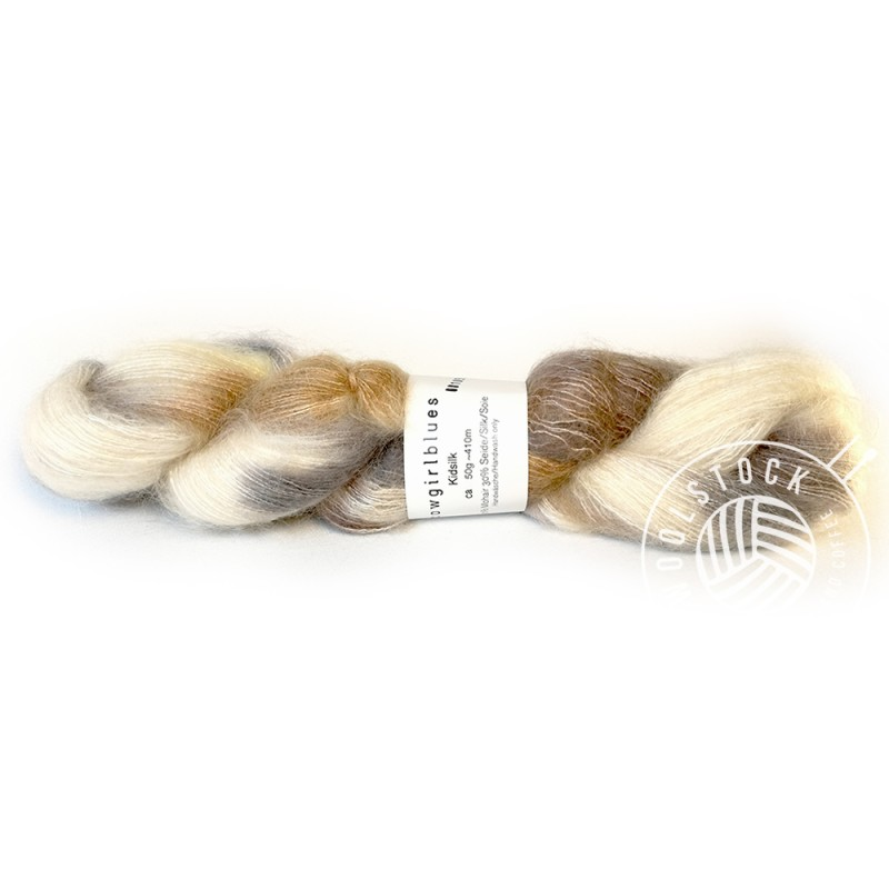 Cowgirlblues Mohair Caramel mix