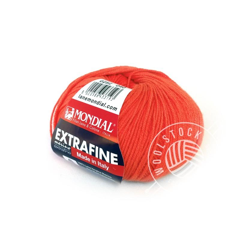 Extrafine Merino 252 crazy tangerine