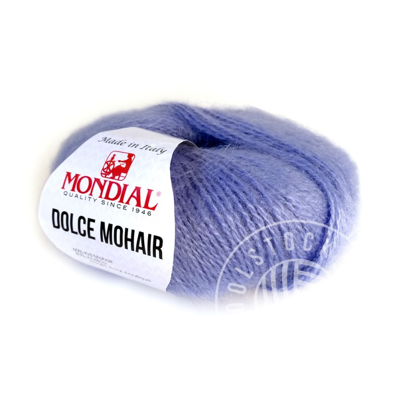 Dolce Mohair 102 periwinkle