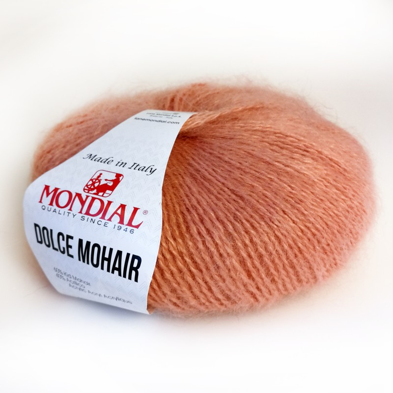 Dolce Mohair 225 salmon