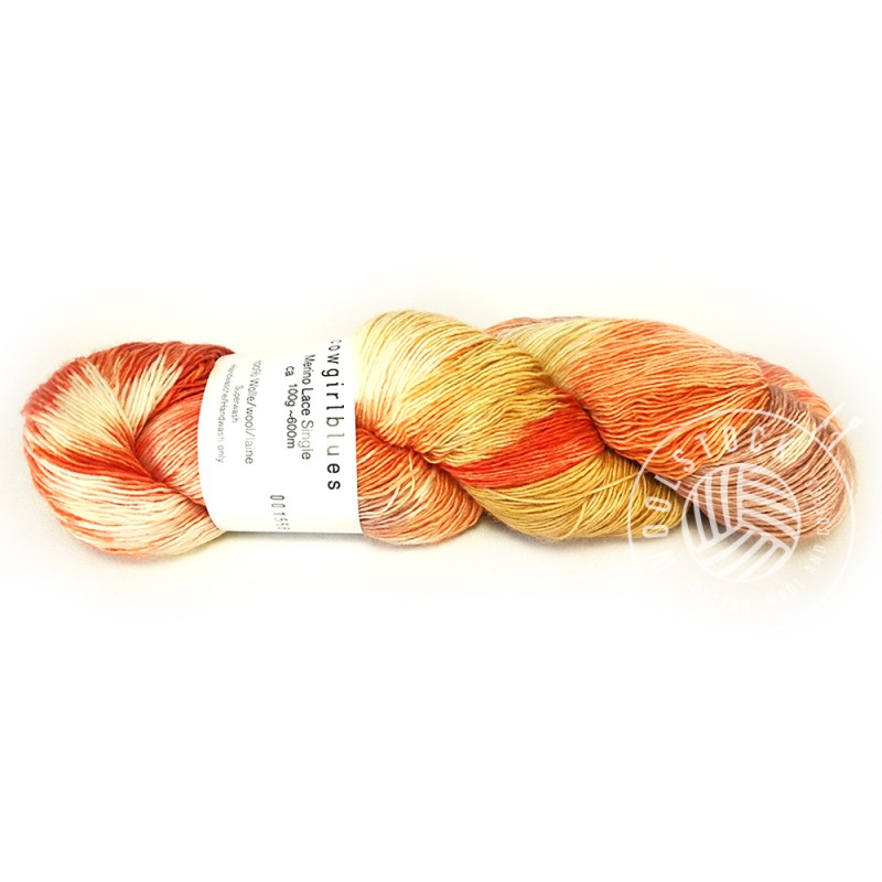 Single Lace ruby grapefruit mix