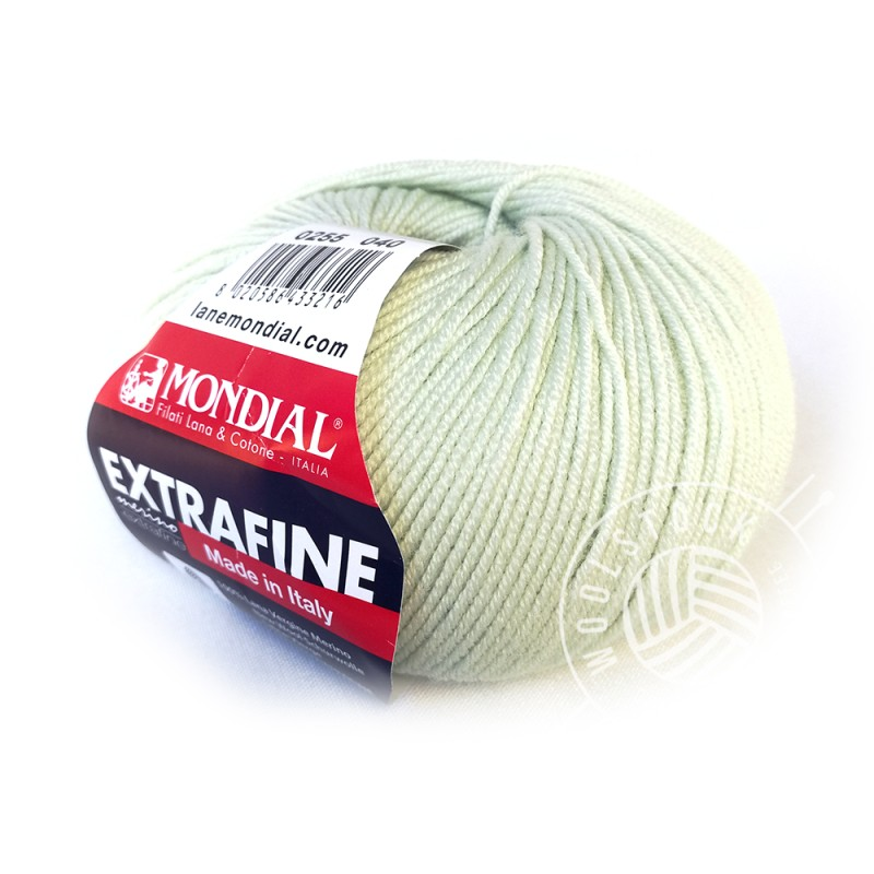 Extrafine Merino 255 mint