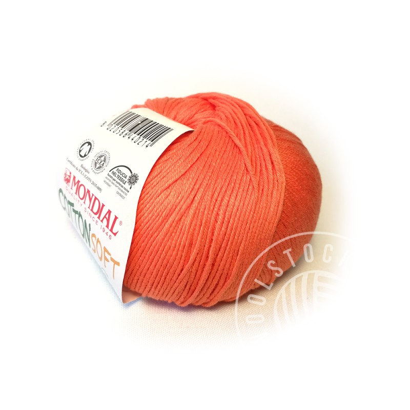 CottonSoft Bio 238 tangerine