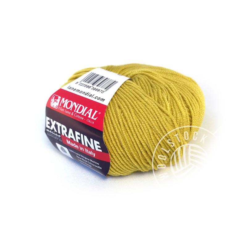 Extrafine Merino 203 crazy mustard