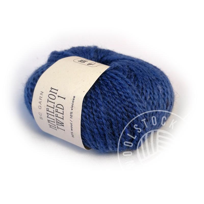 BC Hamelton Tweed 02 royal blue