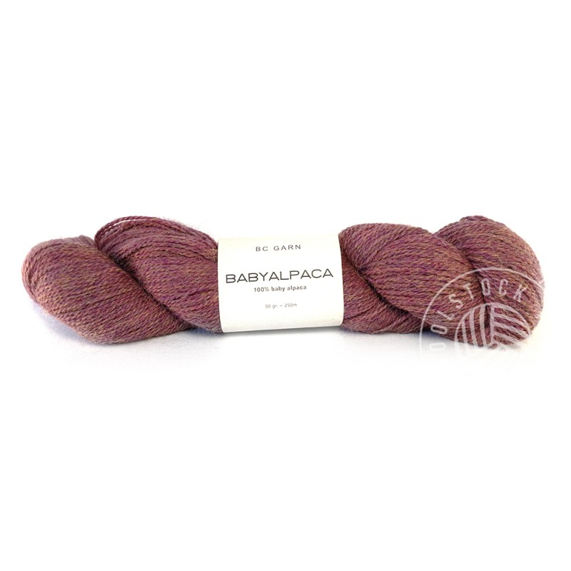BC Baby Alpaca 112 antique plum