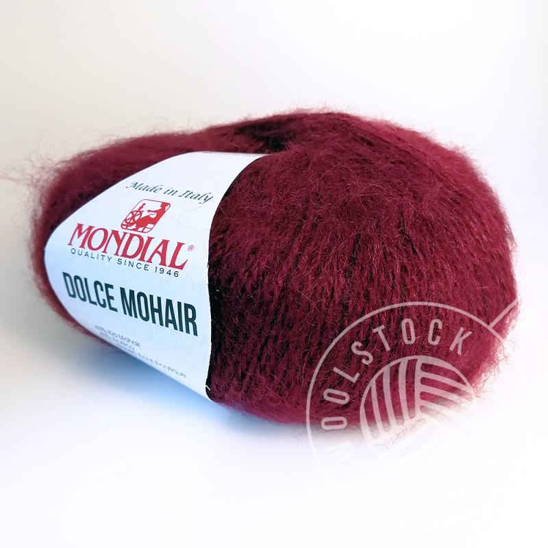 Dolce Mohair 250 raspberry