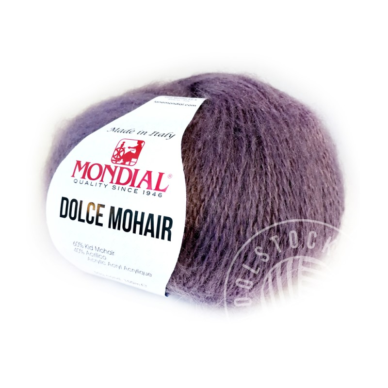 Dolce Mohair 205 purple