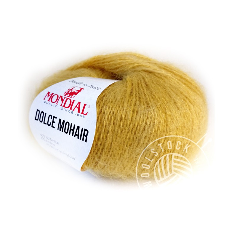 Dolce Mohair 284 mustard