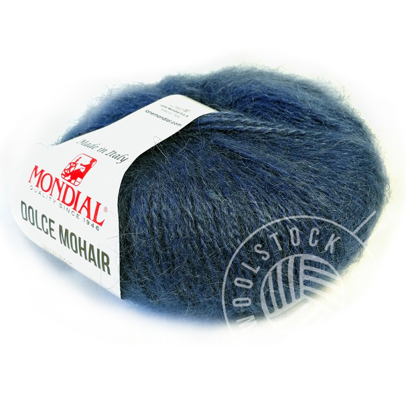 Dolce Mohair 206 petrol blue