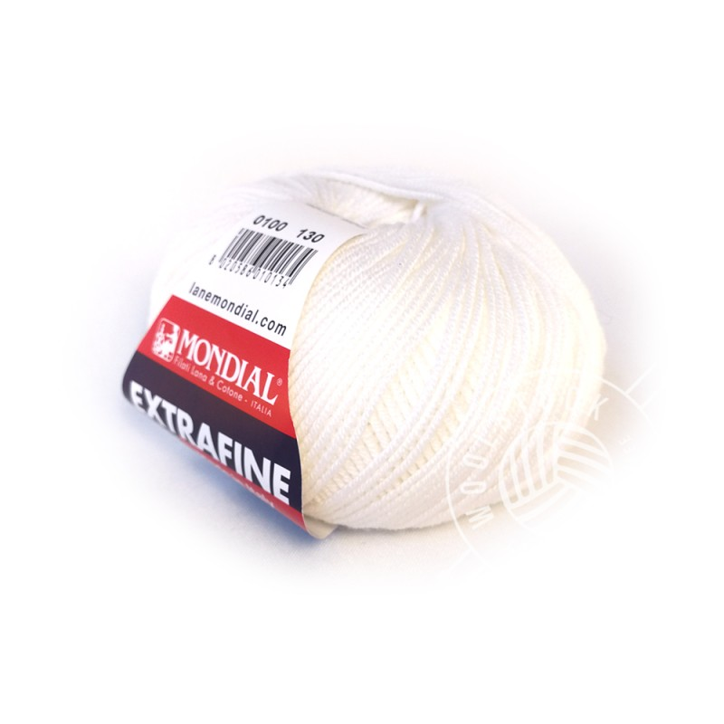 Extrafine Merino 100 white