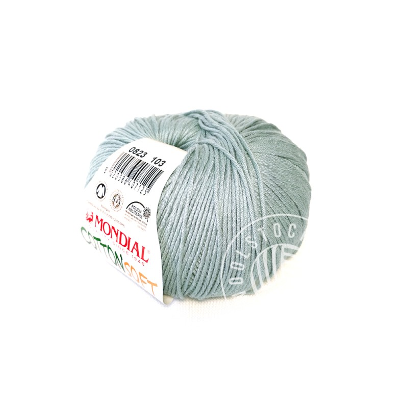 CottonSoft Bio 823 aqua