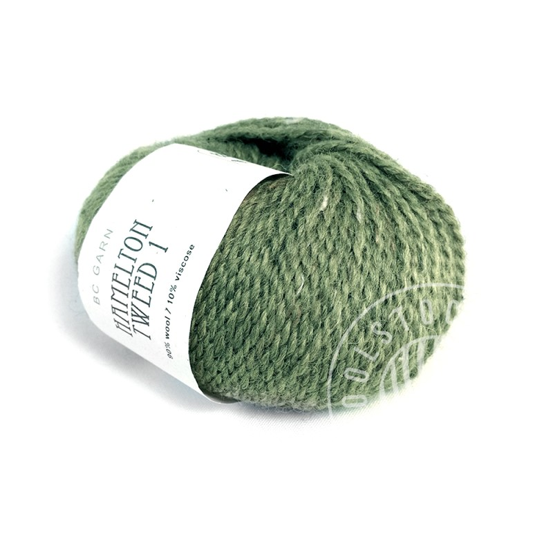 BC Hamelton Tweed 14 dusty green