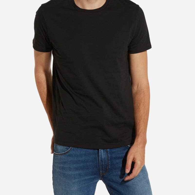 Wrangler T-shirt bomull svart