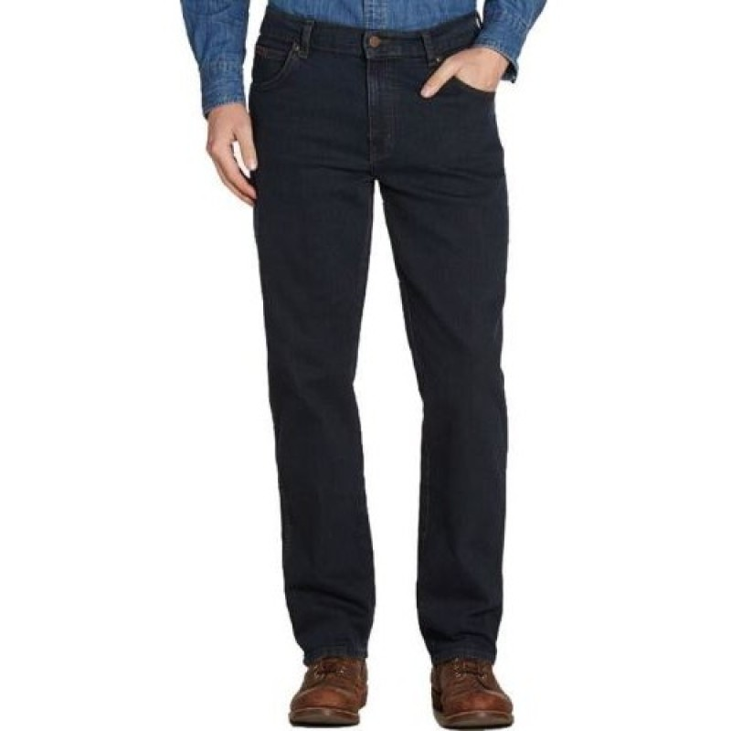Wrangler Jeans Texas Blueblack Stretch