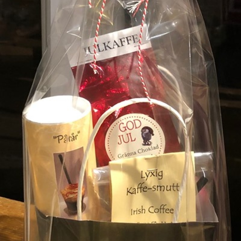 Irish Coffee, Kaffe-smutt kit med Julkaffe