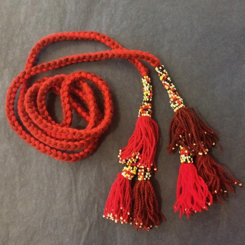 Bedouin Tasseled Cord Belt