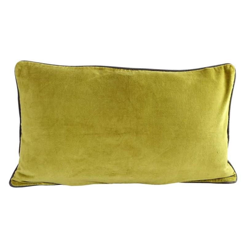 Velvet breakfast cushion by Raine & Humble