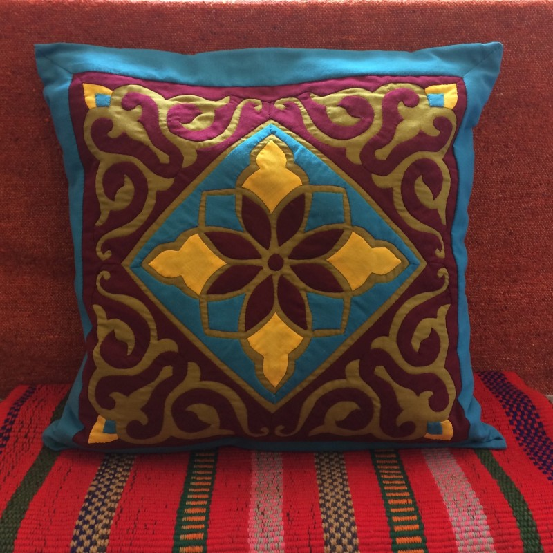 Egyptian Handmade Khayamiya Cushion Cover