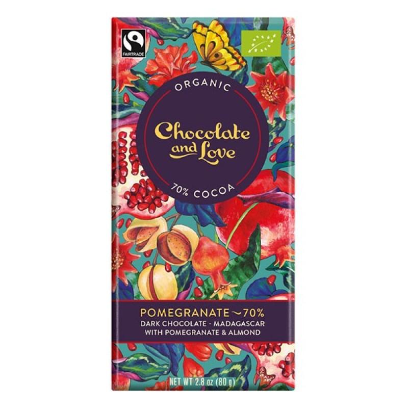 Chocolate & Love Organic Fairtrade Chocolate Bar