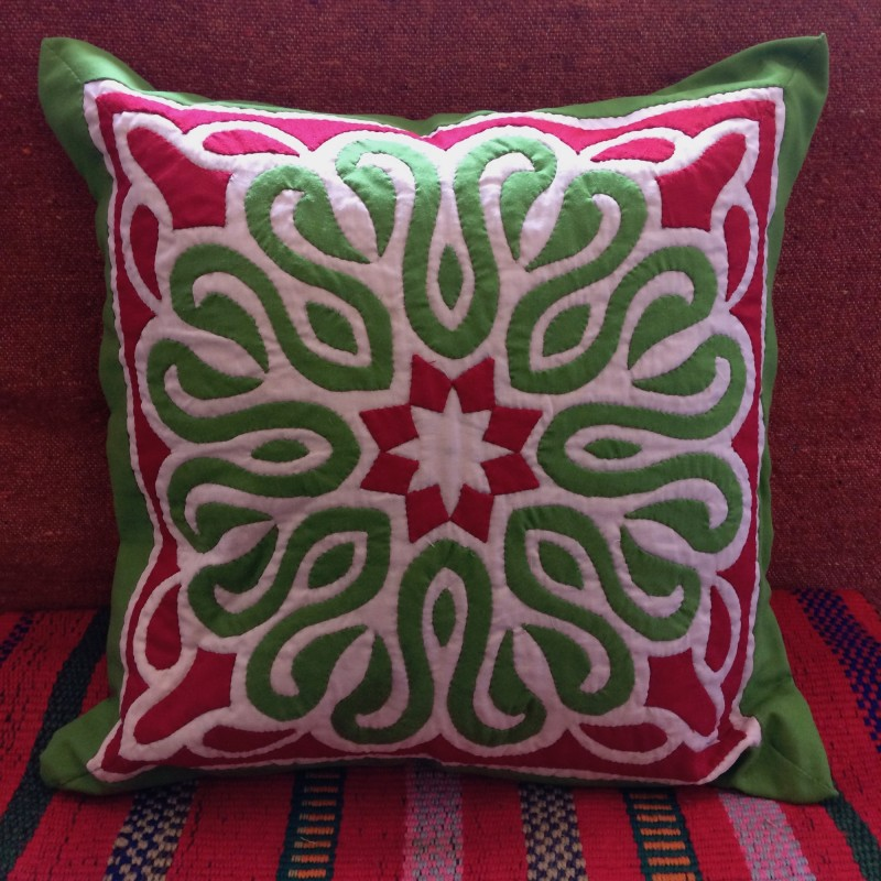 Egyptian Handmade Khayamaya Cushion