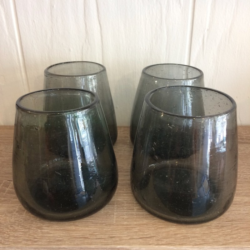 Set of Ramadi Conical Drinking Glasses