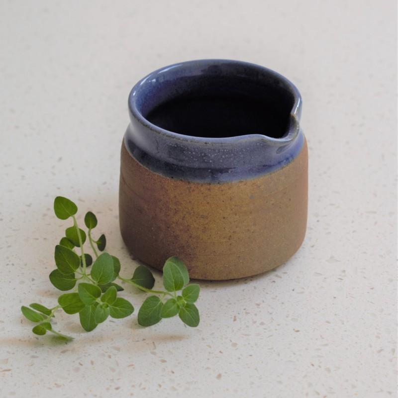 Stoneware Jug in Blue