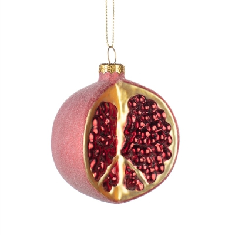 Pomegranate Christmas Bauble