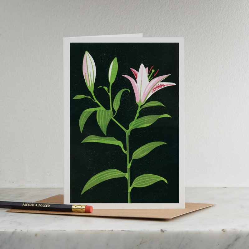 Lily Card by Pressed & Folded
