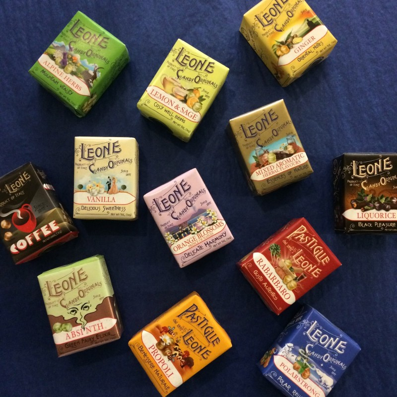 Leone Packet of Italian Pastilles - Various Flavours