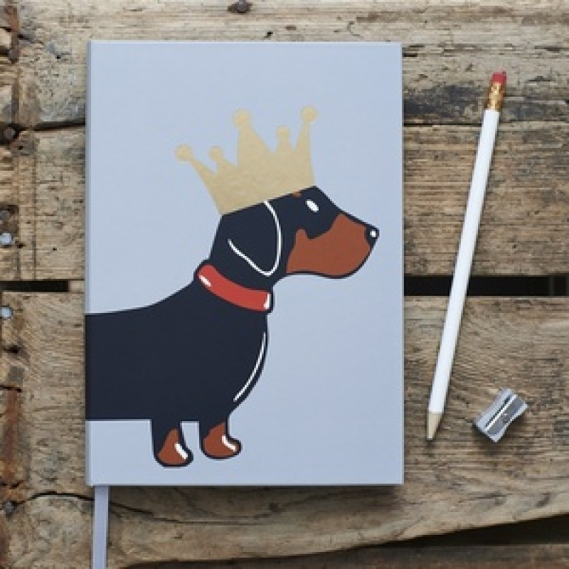 A5 Dog Notebook by Sweet William