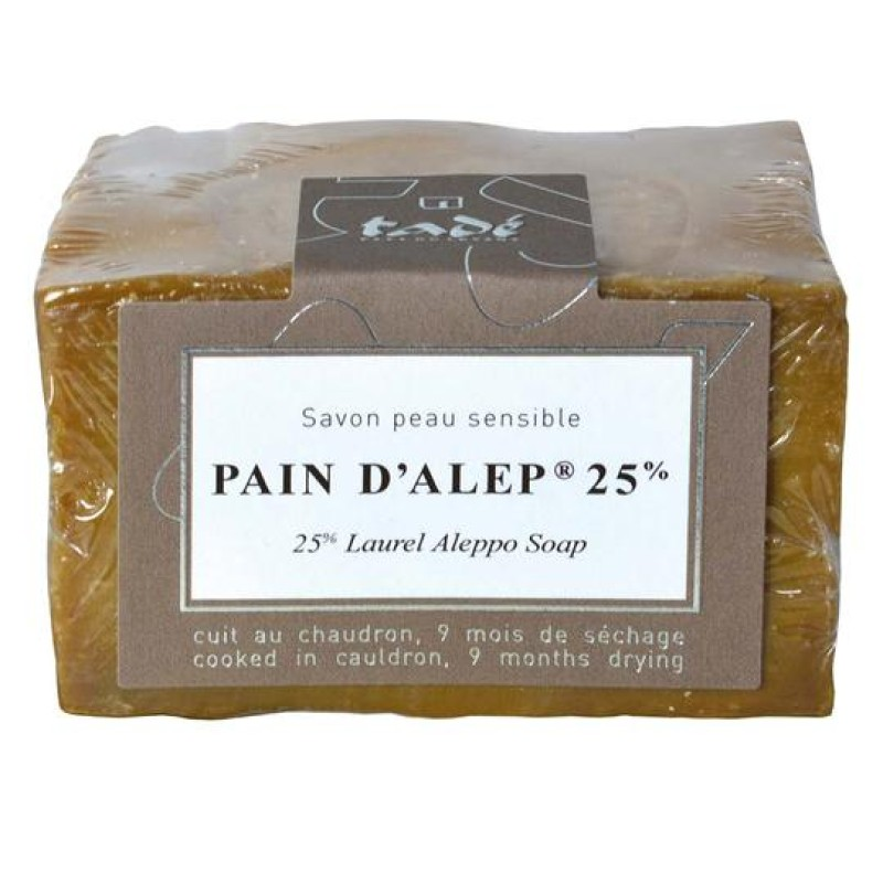 SALE! Tadé Pain d'Alep 25% Laurel Oil Soap