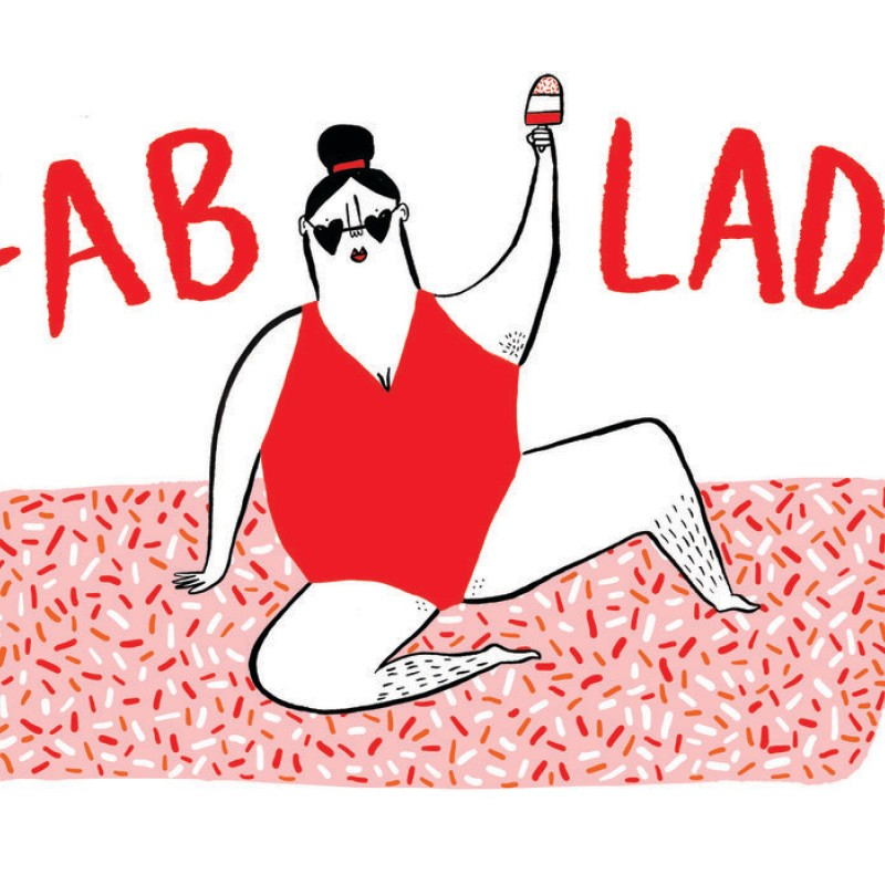 Fab Lady Card by Abigail Burch