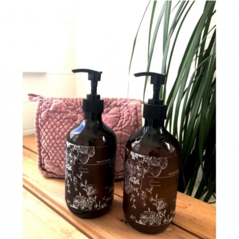 Rose Hand Lotion by Raine & Humble