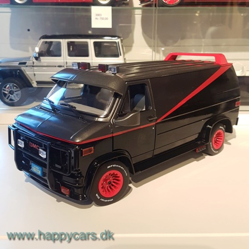 1:18 GMC Vandura A-Team, 1983, Greenlight