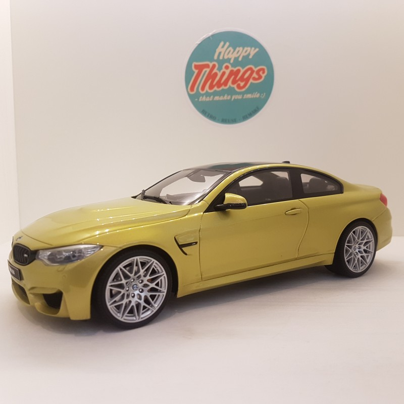 1:18 BMW M4 Competition Package, GT Spirit, GT164, austin gul metallic 1:18 - limited 1/1500
