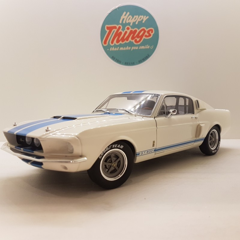 1:18 Ford Mustang Shelby GT500, 1967, Solido, hvid
