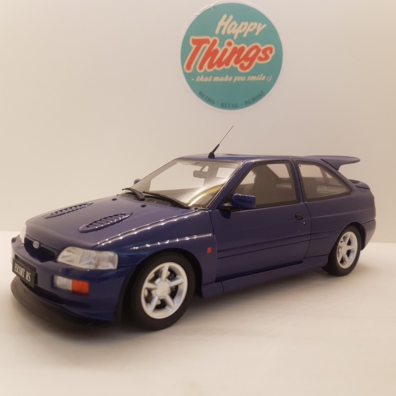 1:18 1992 Ford Escort RS Cosworth, blå, Ottomobile, limited