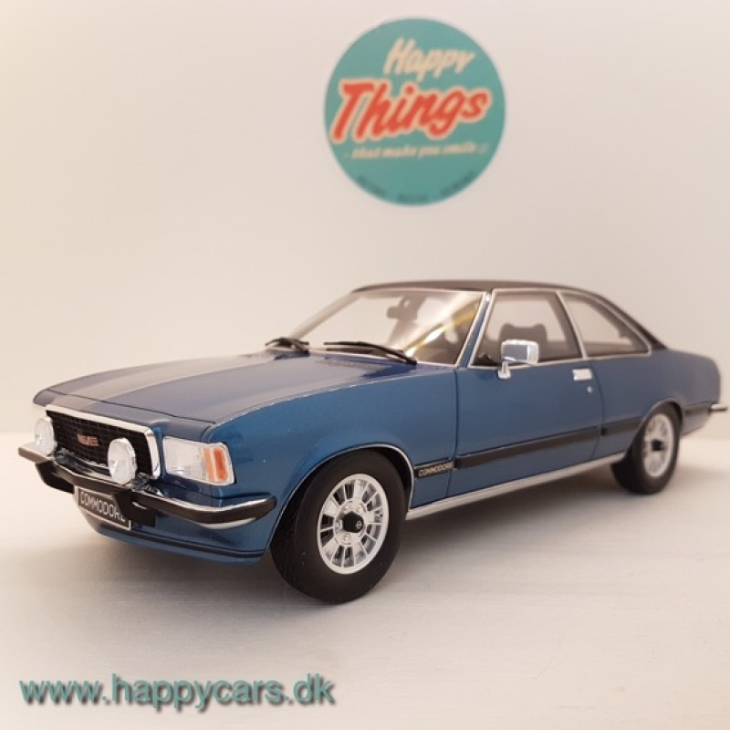 1:18 Opel Commodore B GS-E limited 2.000 stk