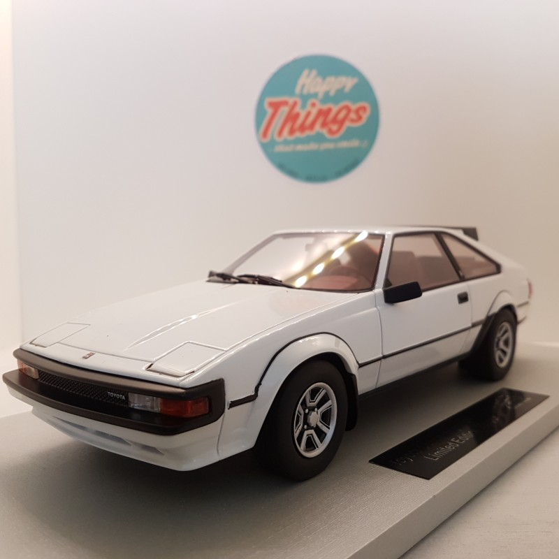 1:18 Toyota Celica Supra MK2, Coupe, hvid, LS Collectibles, limited 250 stk.