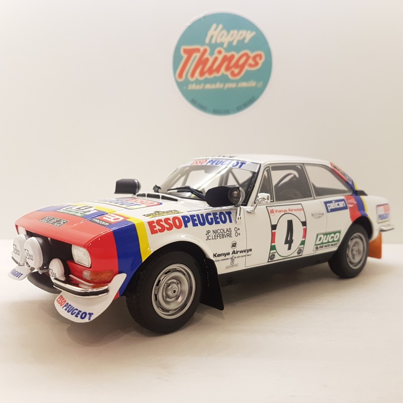 1:18 Peugeot 504 Ivory Coast Rallye N-6, Ottomobile, limited